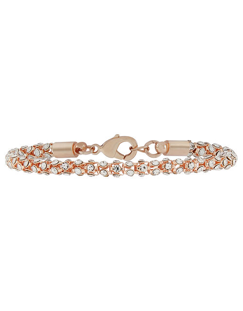 Crystal Snake Chain Bracelet, , large