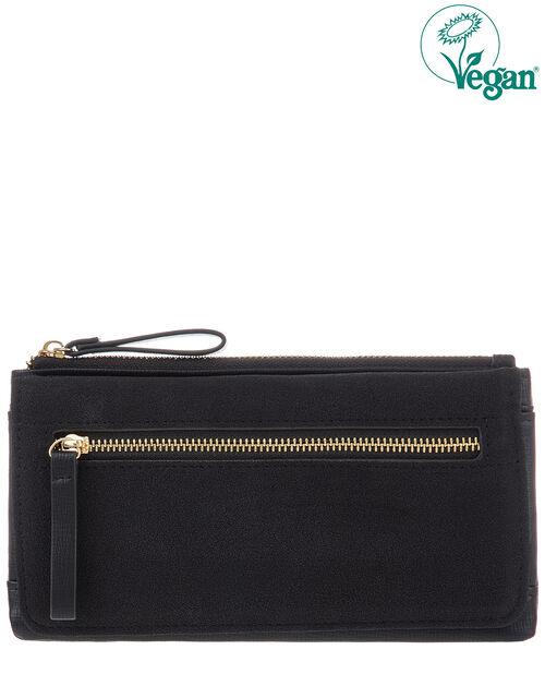 Appleton Vegan Wallet, Black (BLACK), large
