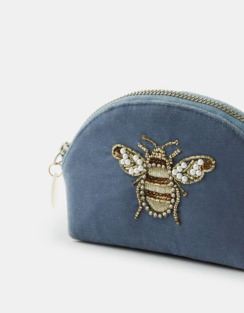 Bee Embellished Coin Purse, , large