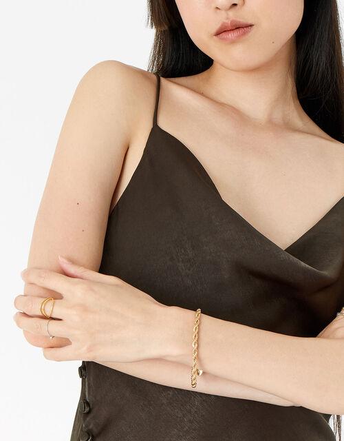 Berry Blush Twisted Rope Bracelet, , large