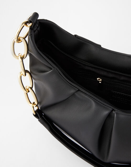 Stella Chain Strap Bag, Black (BLACK), large