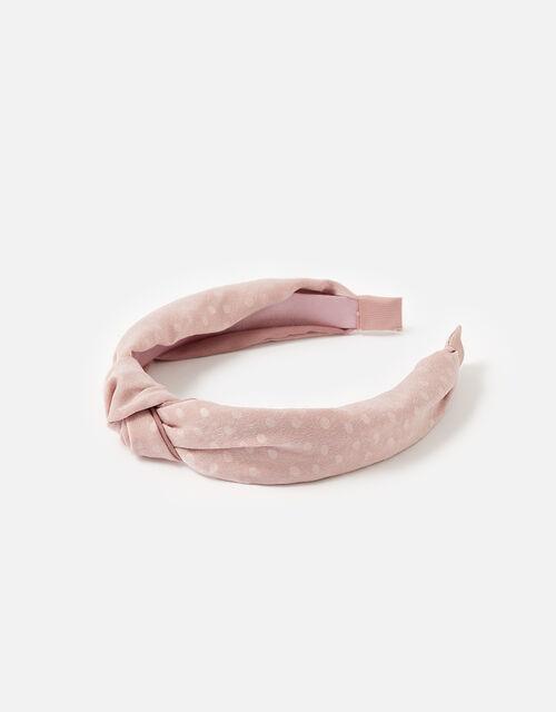 Spot Knot Headband, , large