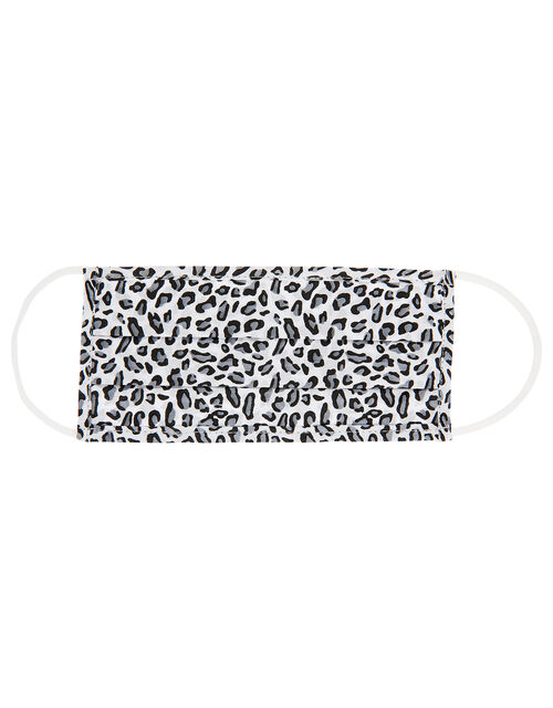 Face Covering in Pure Cotton, Leopard (LEOPARD), large