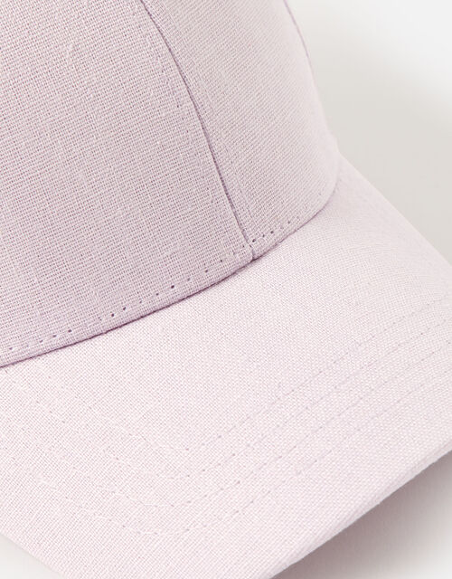 Linen Look Baseball Cap , , large