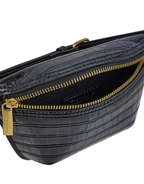Becky Croc Belt Bag, , large