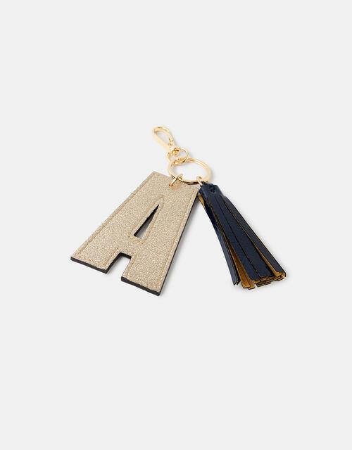 Letter Keyring - A, , large