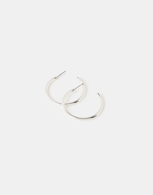 Medium Tube Hoop Earrings, , large