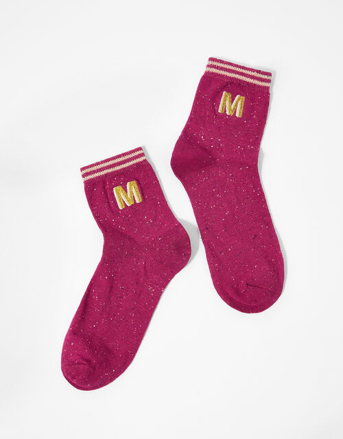 Initial Ankle Socks - M, , large