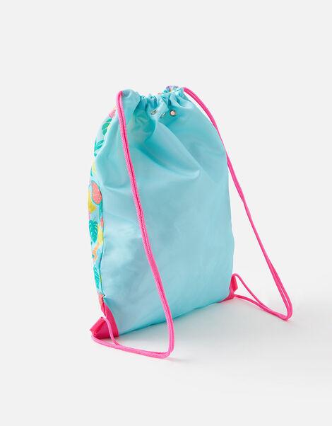 Fruit Print Drawstring Bag, , large