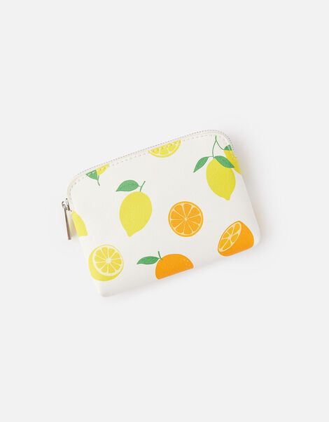 Lemon Print Coin Purse , , large