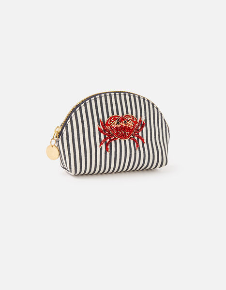 Embellished Crab Coin Purse, , large
