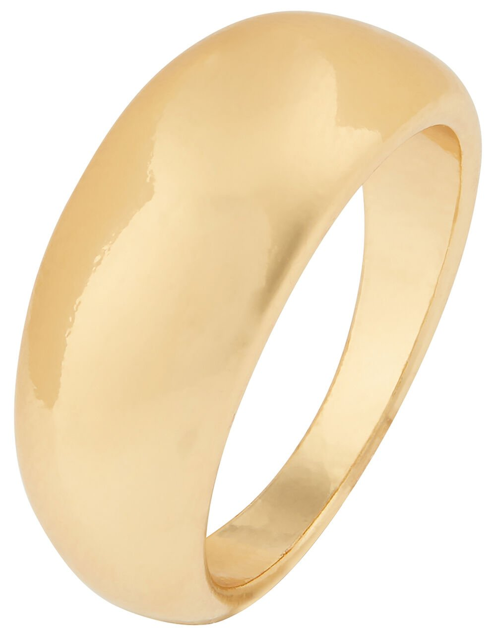 Chunky Band Ring, Gold (GOLD), large