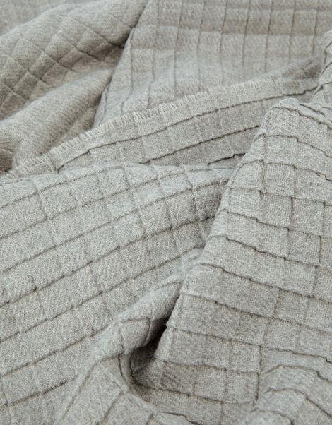 Modern Square Print Blanket Scarf, , large