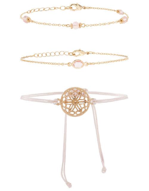 Gemstone Chain and Friendship Bracelet Set, , large