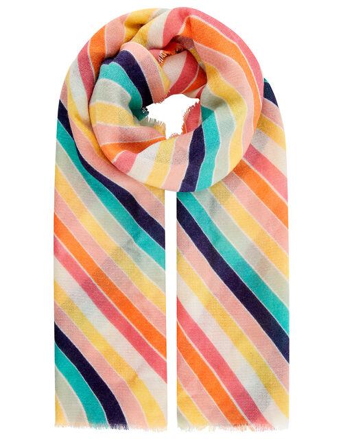 Rainbow Blanket Scarf, , large