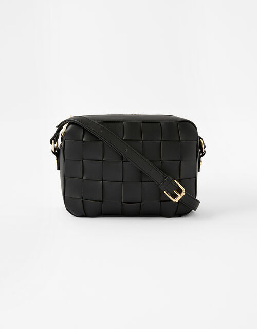 Hayley Weave Camera Bag, Black (BLACK), large