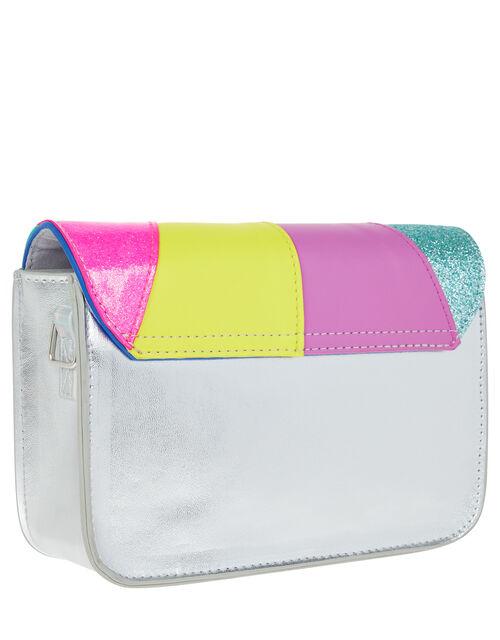 Retro Rainbow Cross Body Bag, , large
