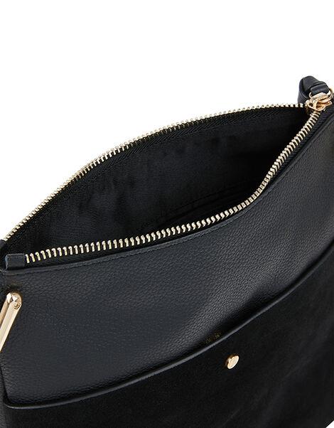 Alessi Leather Messenger Bag, , large