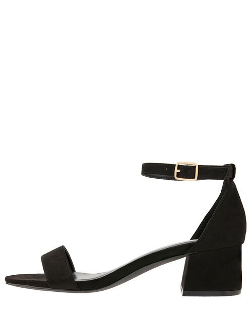 Block Heel Sandals, Black (BLACK), large