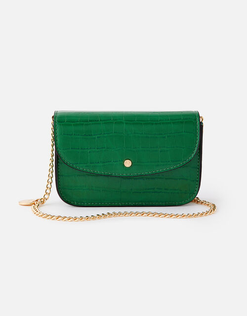 Mini Purse Cross-Body Bag , Green (GREEN), large