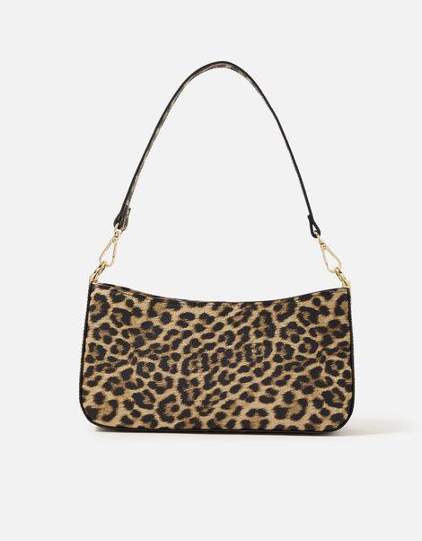 Roxanne Shoulder Bag Leopard, Leopard (LEOPARD), large