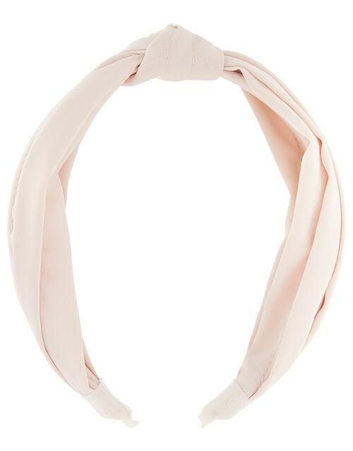 Wide Fabric Knot Headband, , large