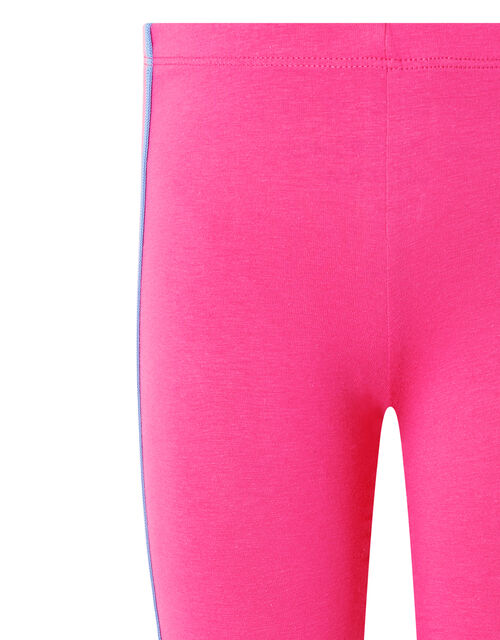 Rainbow Tape Jersey Leggings, Pink (PINK), large