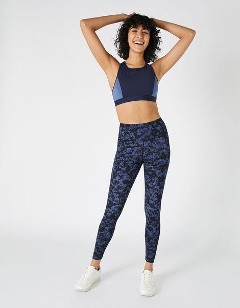 Full-Length Printed Gym Legging Multi, Multi (BRIGHTS-MULTI), large