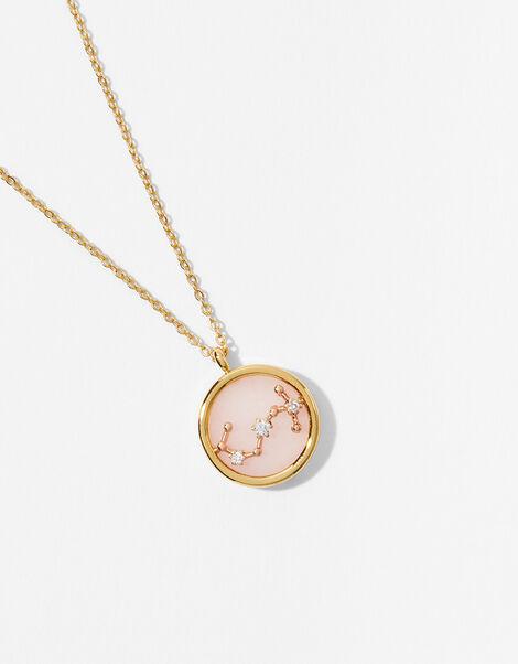 Rose Quartz Constellation Necklace - Scorpio, , large