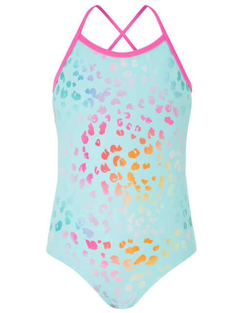 Ombre Animal Print Swimsuit, Multi (BRIGHTS-MULTI), large