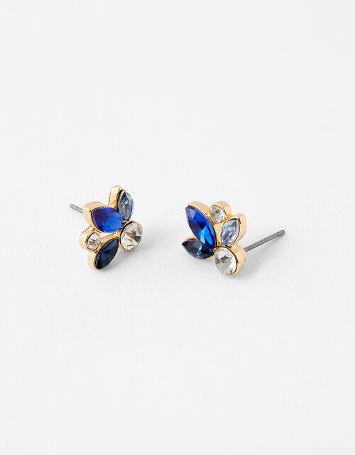 Ombre Gem Stud Earrings, , large