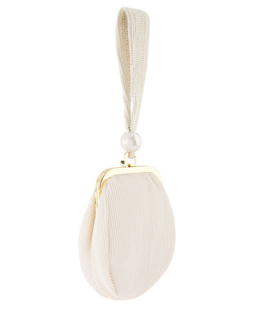 Poppy Pearl Wristlet Bag, , large