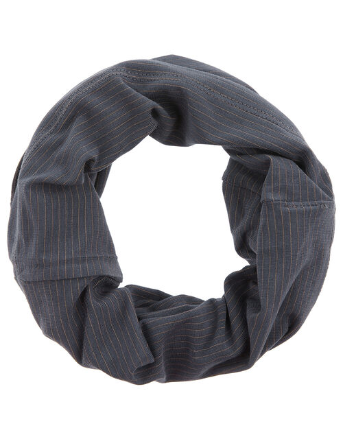 Anti-Bacterial Snood Face Covering, Grey (GREY), large