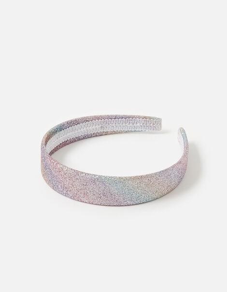 Anna Glitter Rainbow Headband, , large