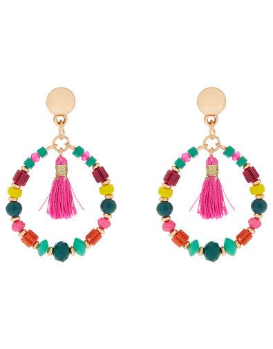 Limoncello Ivory Coast Drop Hoop Earrings, , large
