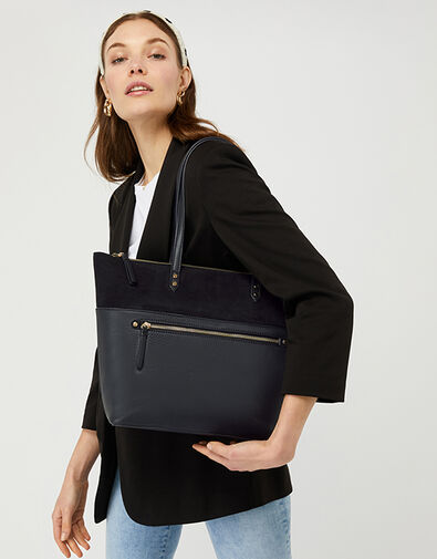Molly Tote Bag Black, Black (BLACK), large