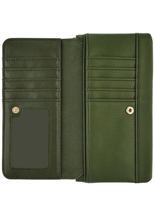 Appleton Vegan Wallet, Green (KHAKI), large