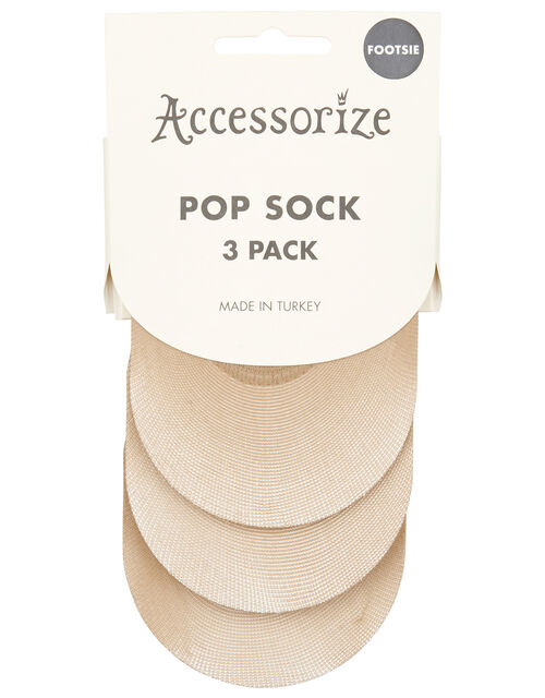 X3 Pop Socks, Nude (NUDE), large