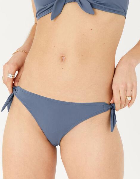 Bunny Tie Bikini Briefs Grey, Grey (GREY), large