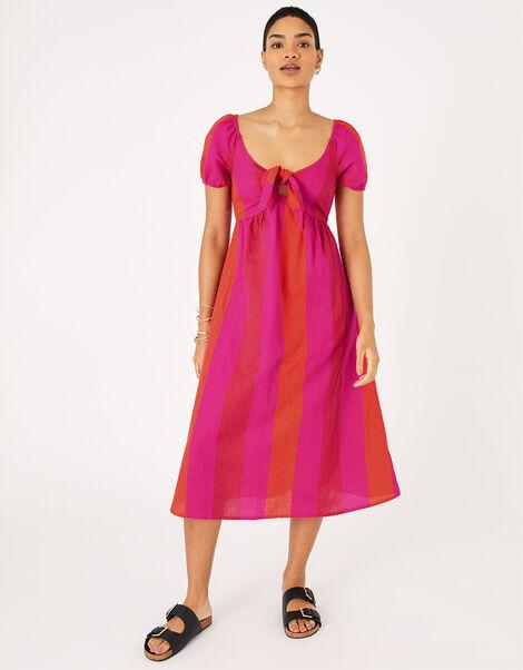 Colour-Block Beach Dress Multi, Multi (BRIGHTS-MULTI), large