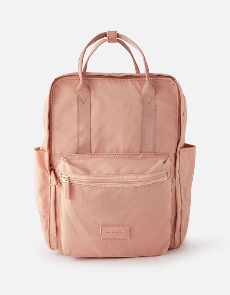 Frida Canvas Backpack  Pink, Pink (PINK), large