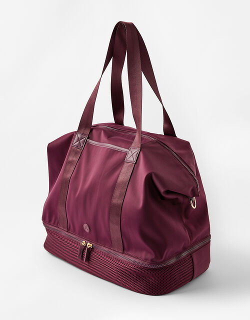 Sydney Slouchy Neoprene Gym Bag, , large