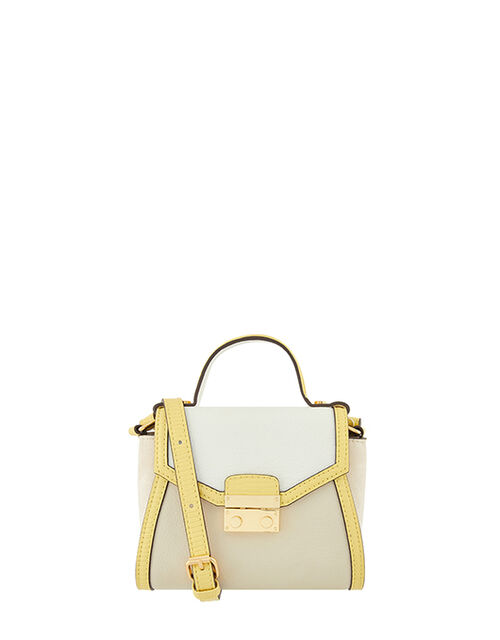 Tilly Tophandle Bag, Yellow (YELLOW), large
