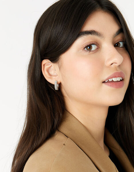 New Decadence Pave Hoops, , large
