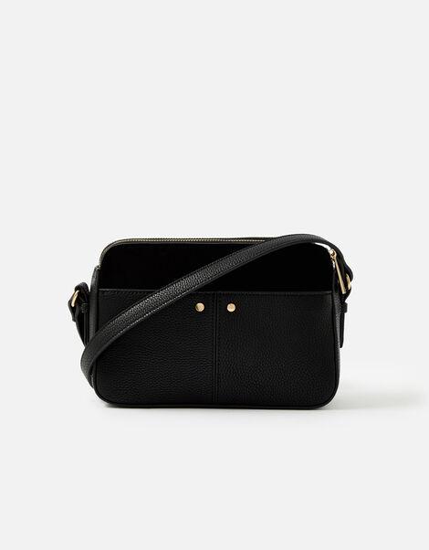 Charlotte Cross-Body Bag Black, Black (BLACK), large