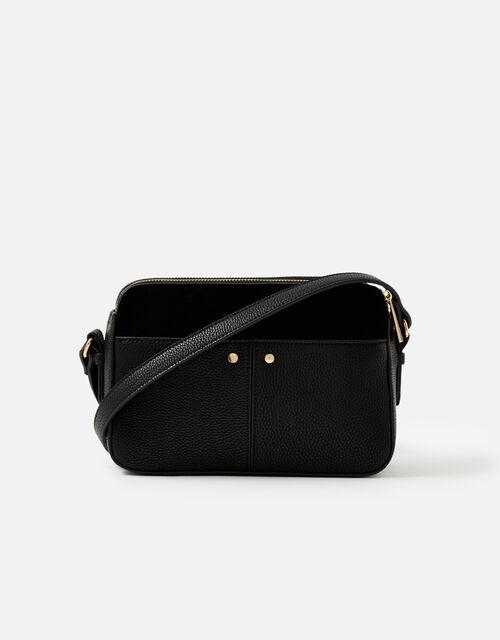 Charlotte Cross-Body Bag, Black (BLACK), large
