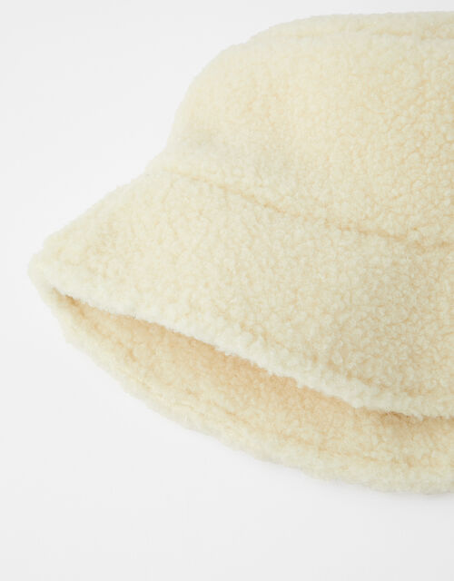 Shearling Bucket Hat, , large