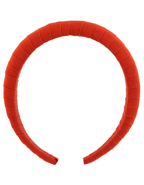 Ribbon-Wrapped Padded Headband, , large