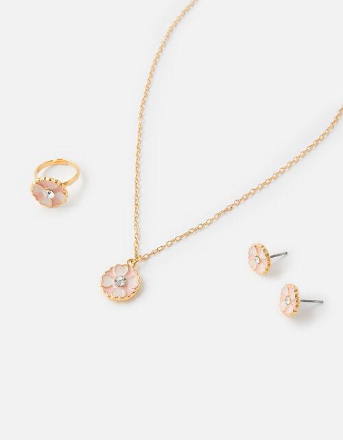 Sparkle Flower Jewellery Set, , large