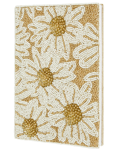 Floral Sequin Notebook, , large